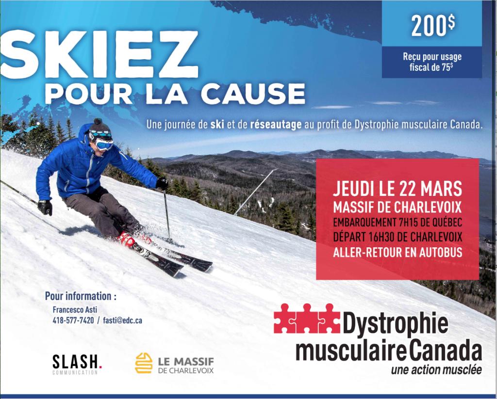 Skiez pour la cause - Le Massif de Charlevoix - 2018 @ Massif de Charlevoix | Petite-Rivière-Saint-François | Québec | Canada
