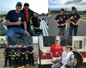 Fredericton Fire Fighters_Collage